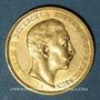 Coins Prusse. Guillaume II (1888-1918). 20 mark 1904A. 900 /1000. 7,96 gr