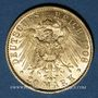 Coins Prusse. Guillaume II (1888-1918). 20 mark 1908A. 900 /1000. 7,96 gr