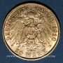 Coins Prusse. Guillaume II (1888-1918). 20 mark 1910 A. (PTL 900‰. 7,96 g)