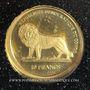 Coins République Démocratique du Congo. 10 francs (2003) (PTL 999‰. 0,5 g)