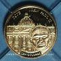 Coins République du Libéria. 10 dollars Jean Paul II 2003. (PTL 585/1000. 0,5 g)
