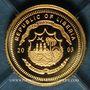 Coins République du Libéria. 25 dollars J.F. Kennedy 2003. (PTL 999/1000. 0,73 g)