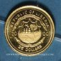 Coins République du Libéria. 25 dollars Napoléon 2000. (PTL 999/1000. 0,73 g)