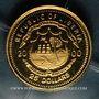 Coins République du Libéria. 25 dollars W.A. Mozart 2000. (PTL 999‰. 0,73 g)
