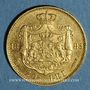 Coins Roumanie. Charles I, roi (1881-1914). 20 lei 1883B. (PTL 900‰. 6,45 g)