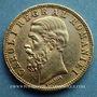 Coins Roumanie. Charles I, roi (1881-1914). 20 lei 1890B. (PTL 900‰. 6,45 g)