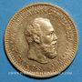 Coins Russie. Alexandre III (1881-1894). 5 roubles 1891. (PTL 900‰. 6,45 g)