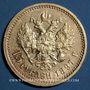 Coins Russie. Nicolas II (1894-1917). 15 roubles 1897. (PTL 900‰. 12,90 g)
