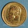 Coins Russie. Nicolas II (1894-1917). 5 roubles 1899. (PTL 900‰. 4,30 g)