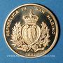 Coins Saint Marin. 2 scudi 2003. 500e anniversaire de la naissance de Nostradamus. (PTL 917‰. 6 g)