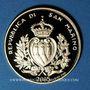 Coins Saint Marin. 2 scudi 2005. 100e anniversaire Rotary International. (PTL 900‰. 6,45 g)