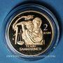 Coins Saint Marin. 2 scudi 2010. Trésor de Saint Marin. (PTL 900‰. 6,45 g)