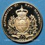 Coins Saint Marin. République. 1 scudo 1993. Fonds monétaire international. (PTL 900‰. 3,2258 g)