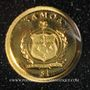 Coins Samoa. Monarchie parlementaire. 1 dollar 2009. (PTL 999,9‰. 0,5 g)