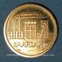 Coins Sarre. Département français (1945-1957).  20 franken 1954 Essai 50 exemplaire. (PTL 900‰. 9,70 g)