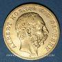Coins Saxe. Albert (1873-1902). 10 mark 1874 E. (PTL 900‰. 3,98 g)