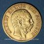 Coins Saxe. Albert (1873-1902). 10 mark 1878E. 900 /1000. 3,98 gr