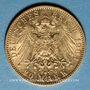 Coins Saxe. Georges (1902-1904). 20 mark 1903 E. (PTL 900‰. 7,96 g)