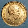 Coins Suède. Oscar II (1872-1907). 20 kronor 1874 ST. (PTL 900‰. 8,96 g)