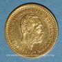 Coins Suède. Oscar II (1872-1907). 5 ckronor 1899EB. (PTL 900‰. 2,24 g)