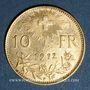 Coins Suisse. 10 francs 1912B. 900 /1000. 3,22 gr