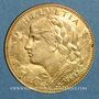 Coins Suisse. 10 francs 1914 B. (PTL 900‰. 3,22 g)