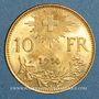Coins Suisse. 10 francs 1914B. (PTL 900‰. 3,22 g)