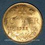 Coins Suisse. 10 francs 1922 B. (PTL 900‰. 3,22 g)