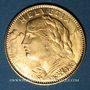 Coins Suisse. 10 francs 1922B. (PTL 900‰. 3,22 g)