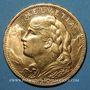 Coins Suisse. Confédération. 100 francs 1925 B. (PTL 900‰. 32,258 g)