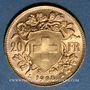 Coins Suisse. Confédération. 20 francs 1935B. 900 /1000. 6,45 gr