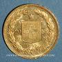 Coins Suisse. Confédération. 20 francs Helvetia 1892B. (PTL 900‰. 6,45 g)