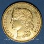Coins Suisse. Confédération. 20 francs Helvetia 1896B. (PTL 900‰. 6,45 g)