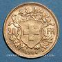 Coins Suisse. Confédération. 20 francs Vreneli 1904 B. (PTL 900‰. 6,45 g)