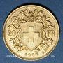 Coins Suisse. Confédération. 20 francs Vreneli 1907B. (PTL 900‰. 6,45 g)