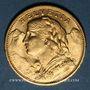 Coins Suisse. Confédération. 20 francs Vreneli 1914B. (PTL 900‰. 6,45 g)