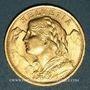 Coins Suisse. Confédération. 20 francs Vreneli 1927B. (PTL 900‰. 6,45 g)