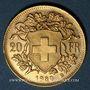 Coins Suisse. Confédération. 20 francs Vreneli 1930B. (PTL 900‰. 6,45 g)