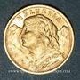 Coins Suisse. Confédération. 20 francs Vreneli 1935 LB. (PTL 900‰. 6,45 g)