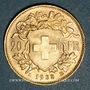 Coins Suisse. Confédération. 20 francs Vreneli 1935LB. 900 /1000. 6,45 gr