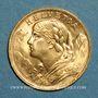 Coins Suisse. Confédération. 20 francs Vreneli 1935LB. (PTL 900‰. 6,45 g)