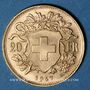 Coins Suisse. Confédération. 20 francs Vreneli 1947B. (PTL 900‰. 6,45 g)