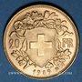 Coins Suisse. Confédération. 20 francs Vreneli 1949B. (PTL 900‰. 6,45 g)