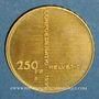 Coins Suisse. Confédération. 250 francs 1991B. (PTL 900‰. 8 g)