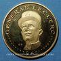 Coins Tchad. 5000 francs (1970). Général Leclerc. (PTL 900‰. 17,5 g)