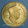 Coins Tchad. République. 10 000 francs 1960/70. Général de Gaulle. 900 /1000. 35 g.