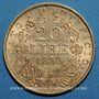 Coins Vatican. Pie IX (1846-1878). 20 lires 1866 an XXI R. Rome. (PTL 900‰. 6,45 g)