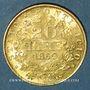 Coins Vatican. Pie IX (1846-1878). 20 lires 1869 an XXIV R. Rome (PTL 900‰. 6,45 g)
