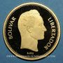 Coins Vénézuela. République. 10 000 bolivares 1987. (PTL 900‰. 31,10 g)