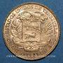 Coins Vénézuela. République. 20 bolivares 1911. Paris. (PTL 900‰. 6,45 g)